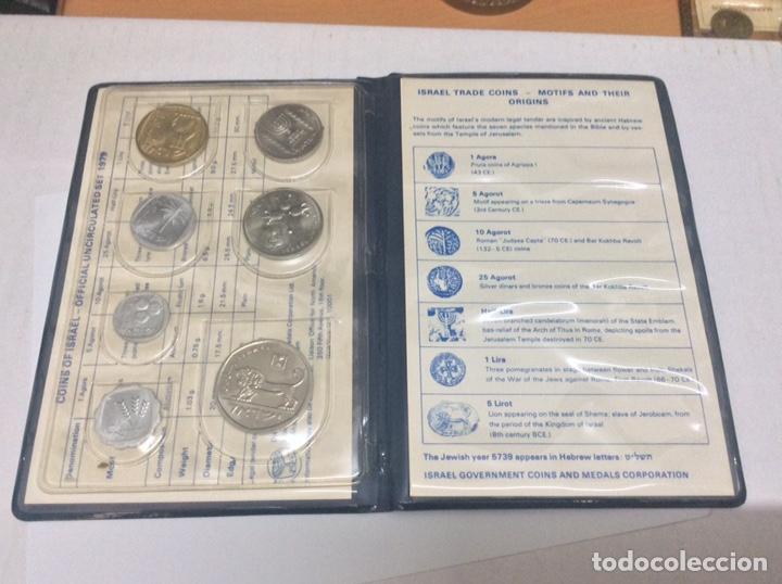 Monedas antiguas de Asia: ISRAEL CARTERA MONEDAS 1979 - Foto 4 - 160670648