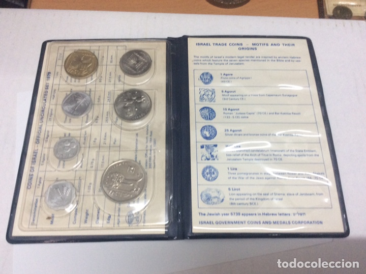 Monedas antiguas de Asia: ISRAEL CARTERA MONEDAS 1979 - Foto 5 - 160670648