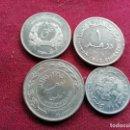 Monedas antiguas de Asia: PAÍSES ÁRABES: JORDANIA, LÍBANO, ETC. 4 MONEDAS. Lote 160690066