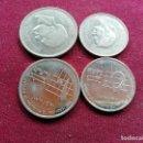 Monedas antiguas de Asia: JORDANIA. 4 MONEDAS DIFERENTES DE 50 Y 100 FILS. Lote 160690554