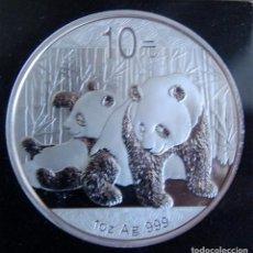 Monedas antiguas de Asia: -CHINA. 10 YUAN. PANDA. 2010. PLATA. PROOF.. Lote 161584298