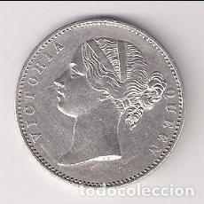 Monedas antiguas de Asia: MONEDA DE RUPIA DE INDIA BRITÁNICA DE 1840. PLATA. EBC+ CATÁLOGO WORLD COINS-KM#458 (ME789). Lote 162291662