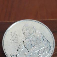 Monedas antiguas de Asia: COREA DEL NORTE MEDIO CHON 2002. Lote 162447132