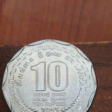 Monedas antiguas de Asia: SRI LANKA 10 RUPIAS 2013. Lote 162457386