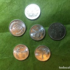 Monedas antiguas de Asia: LOTE 6 MONEDAS CHINAS. Lote 162551162