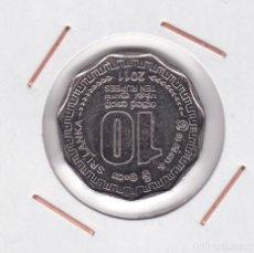 Monedas antiguas de Asia: SRI LANKA : 10 RUPEES 2011 EBC. Lote 163558714