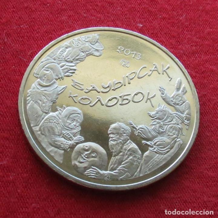 KAZAJISTÁN KAZAKHSTAN 50 TENGE 2013 KOLOBOK UNC (Numismática - Extranjeras - Asia)