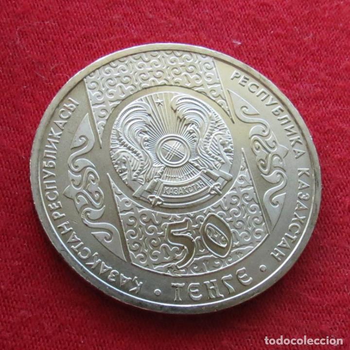 Monedas antiguas de Asia: Kazajistán Kazakhstan 50 tenge 2013 kolobok UNC - Foto 2 - 194355200