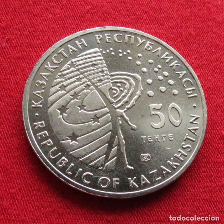 Monedas antiguas de Asia: Kazajistán Kazakhstan 50 tenge 2014 Buran espacio - Foto 2 - 194355195