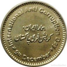 Monedas antiguas de Asia: PAQUISTAN / PAKISTAN 50 2018 DIA ANTI CORRUPCION. Lote 214068695
