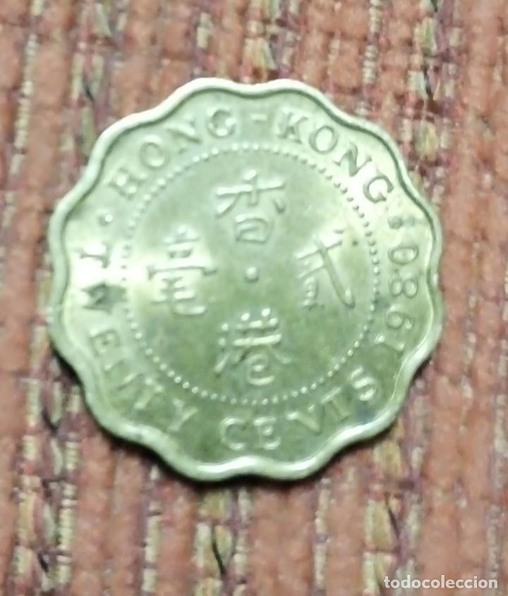 Monedas antiguas de Asia: Moneda Hong Kong 1980 - Foto 2 - 167483076