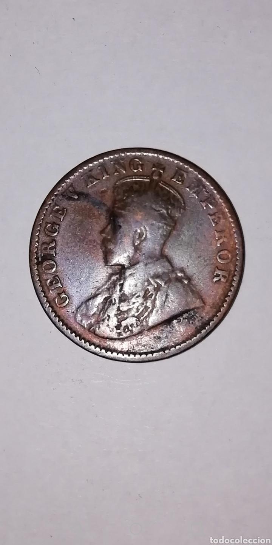 MONEDA DE INDIA ONE QUARTER DE ANNA DE 1926 (Numismática - Extranjeras - Asia)
