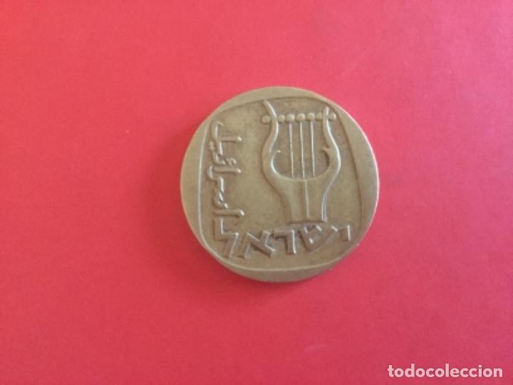 MONEDA DE 1/2 LIRA O 25 AGOROT 1960 ISRAEL (Numismática - Extranjeras - Asia)
