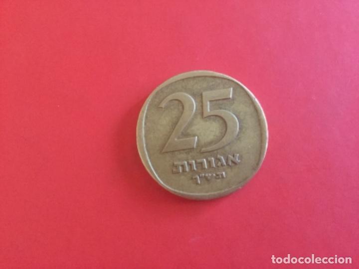 Monedas antiguas de Asia: Moneda de 1/2 Lira o 25 Agorot 1960 Israel - Foto 2 - 169094148