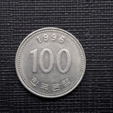 Monedas antiguas de Asia: COREA DEL SUR 100 WON 1996 KM35.2. Lote 169809920