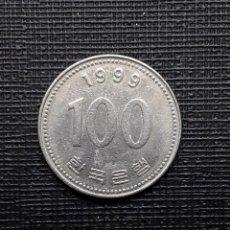 Monedas antiguas de Asia: COREA DEL SUR 100 WON 1999 KM35.2. Lote 169810144