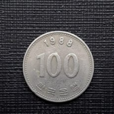 Monedas antiguas de Asia: COREA DEL SUR 100 WON 1988 KM35.2. Lote 169810244