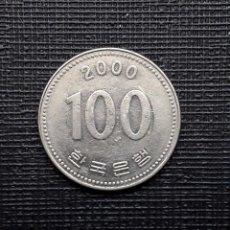 Monedas antiguas de Asia: COREA DEL SUR 100 WON 2000 KM35.2. Lote 169810296