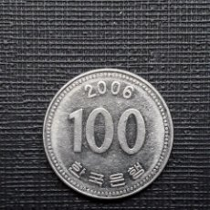 Monedas antiguas de Asia: COREA DEL SUR 100 WON 2006 KM35.2. Lote 169810424