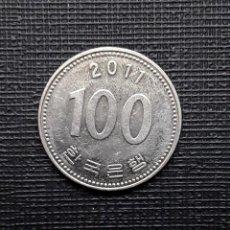 Monedas antiguas de Asia: COREA DEL SUR 100 WON 2011 KM35.2. Lote 169810556