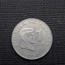 Monedas antiguas de Asia: FILIPINAS 1 PISO 1997 KM269. Lote 169876680