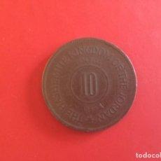 Monedas antiguas de Asia: JORDANIA. 10 FILS 1949. Lote 171175879