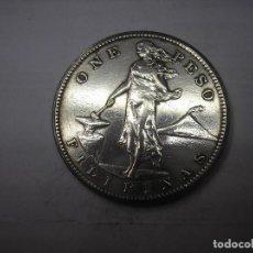 Monedas antiguas de Asia: FILIPINAS , 1 PESO DE PLATA DE 1909 S. ADMINISTRACCIÓN USA. Lote 172002305