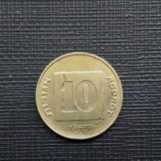 Monedas antiguas de Asia: ISRAEL 10 AGOROT 1994 KM158. Lote 172430330