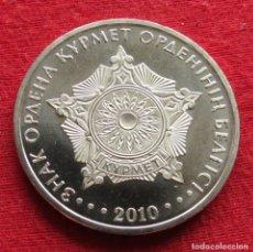 Monedas antiguas de Asia: KAZAJISTÁN KAZAKHSTAN 50 TENGE 2010 ORDEN KURMET. Lote 235370955