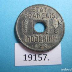 Monedas antiguas de Asia: INDOCHINA FRANCESA, VIETNAM, 1/4 CÉNTIMO 1942, VIET NAM. Lote 172864454