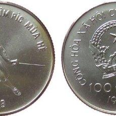Monedas antiguas de Asia: VIETNAM 100 DONG 1986. Lote 173063230