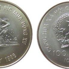 Monedas antiguas de Asia: VIETNAM 100 DONG 1986. Lote 173063297