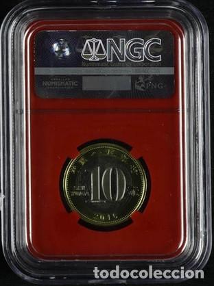 Monedas antiguas de Asia: 2016 China 10 Yuan lunarseries Mono Bimetálica primer día de Isue ngcms 69PL 4P nº4313654-085 - Foto 2 - 173098817