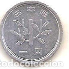 Monedas antiguas de Asia: JAPON,1 YEN 1988.. Lote 173398645