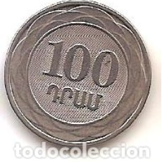 Monedas antiguas de Asia: ARMENIA,100 DRAM 2003.. Lote 173398945