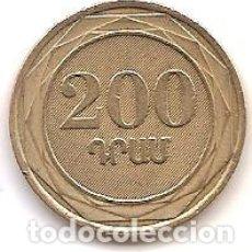 Monedas antiguas de Asia: ARMENIA,200 DRAM 2003.. Lote 173399019