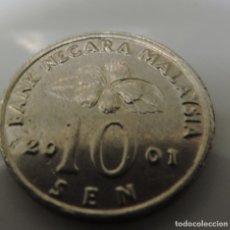 Monedas antiguas de Asia: MONEDA 10 SEN MALASIA 2001 MALAYSIA. Lote 173600332