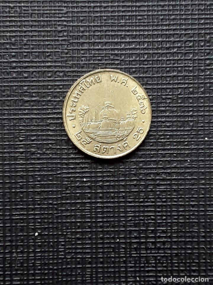 Monedas antiguas de Asia: TAILANDIA 25 Satang 1993 y187 - Foto 2 - 174030617