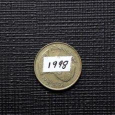 Monedas antiguas de Asia: TAILANDIA 25 SATANG 1998 Y187. Lote 174030745
