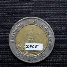 Monete antiche di Asia: TAILANDIA 10 BAHTS 2005 Y227. Lote 174034762