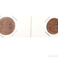 Monedas antiguas de Asia: INDIA HOLANDESA, 2 MONEDAS: 1/2 CENT 1933 - 1/2 CENT 1945. Lote 174049428