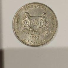 Monedas antiguas de Asia: MONEDA SINGAPUR 20 CENTS 1993. Lote 175518693