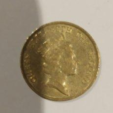Monedas antiguas de Asia: MONEDA HONG KONG 10 CENTS 1990. VER FOTO. Lote 175523442
