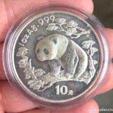 Monedas antiguas de Asia: 1 ONZA PLATA PURA CHINA 1997. Lote 175959294