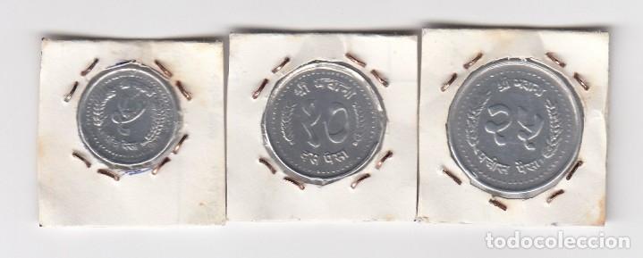 Monedas antiguas de Asia: monedas en aluminio nepal (más datos por definir y clasificar) - Foto 2 - 176015319
