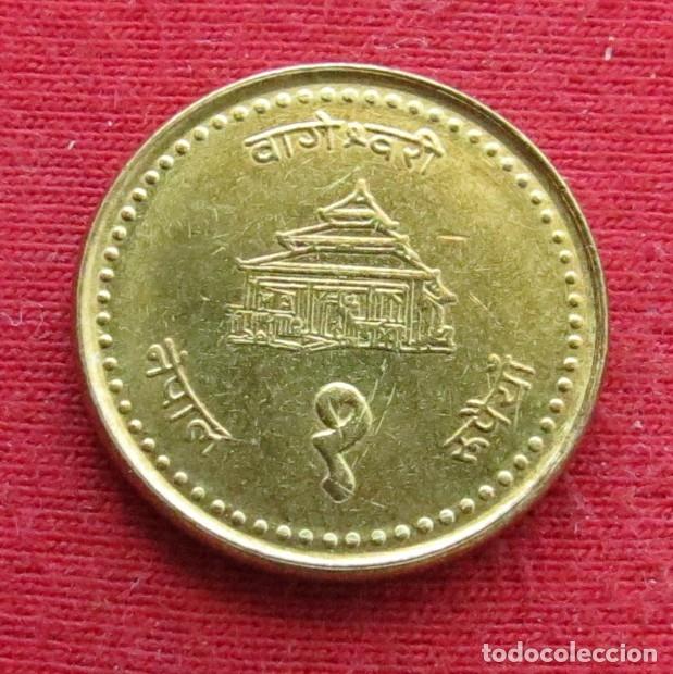 NEPAL 1 RUPEE 2000 (Numismática - Extranjeras - Asia)