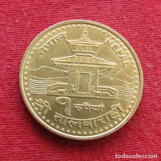 NEPAL 1 RUPEE 2005 (Numismática - Extranjeras - Asia)