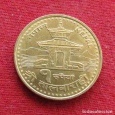 Monedas antiguas de Asia: NEPAL 1 RUPEE 2005. Lote 177427653