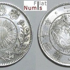 Monedas antiguas de Asia: JAPON - 20 SEN - 1870 (3) - MUTSUHITO - PLATA - ESCASA - E.B.C.. Lote 177574299