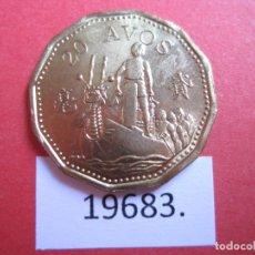 Monedas antiguas de Asia: MACAO 20 AVOS 1993. Lote 177617913